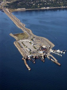 Tsawwassen Terminal aerial view
