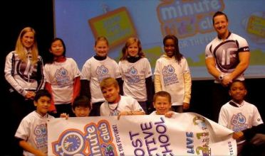 Winners of the 60 Minute Kids' Club Challenge